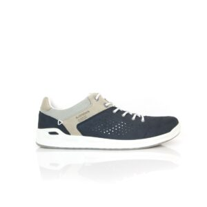 Lowa San Francisco Navy/White Mens Waterproof Walking Shoes
