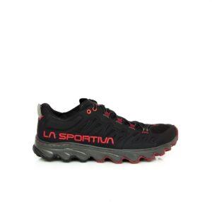 La Sportiva Helios III Black/Poppy Mens Trail Running