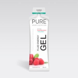 Pure Energy Gel - Raspberry (+ Caffeine) 50g