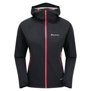 Montane Minimus Stretch Ultra Waterproof Jacket Black Womens
