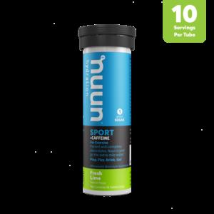 Nuun Hydration Tablets - Fresh Lime (+ Caffeine)