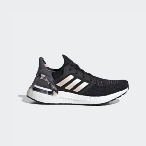 Adidas Ultraboost 20 Core Black/Pink Tint/Grey Four FV8349 Womens