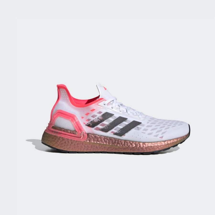 Adidas Ultraboost PB White/Black/Signal Pink EG5917 Womens