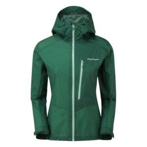 Montane Minimus Waterproof Jacket Wakame Green Womens