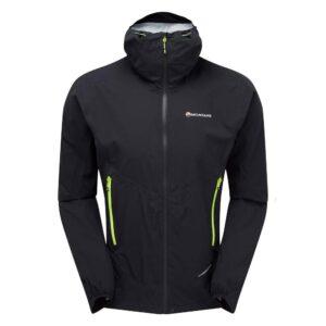 Montane Minimus Stretch Ultra Waterproof Jacket Black Mens