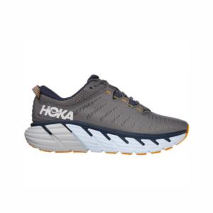 Hoka Gaviota 3 Wide Charcoal Gray/Ombre Blue Mens