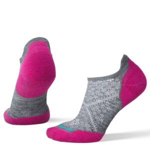 Smartwool PhD Run Light Elite Cushion Micro Grey/Purple Womens