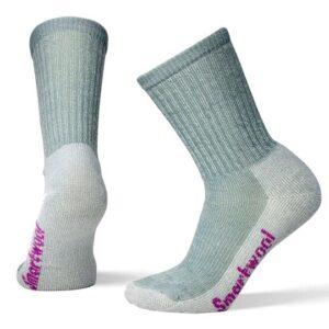 Smartwool Hike Light Crew Grey Socks Womens