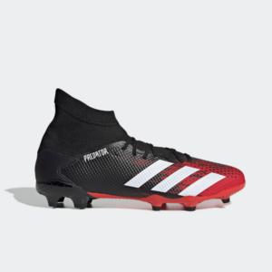 Adidas Predator 20.3 FG Core Black/Cloud White/Active Red EE9555