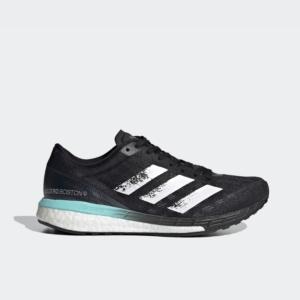 Adidas Boston 9 Core Black/Cloud White/Clear Aqua FY0342 Womens
