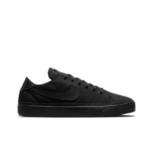 Nike Court Legacy Canvas Black/Black Multi-Colour Mens