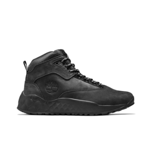 Timberland Solar Wave Mid Hiking Boots Black Mens