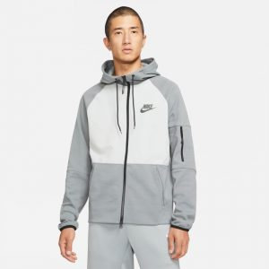 Nike FLC Smoke/Grey Hoodie Mens