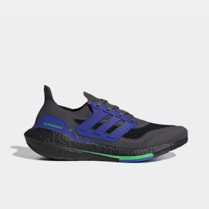 Adidas Ultraboost 21 Black/Blue Mens