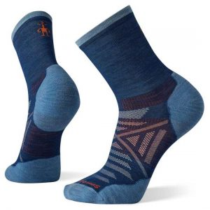 Smartwool Hike Light Mid Crew Blue Socks Mens